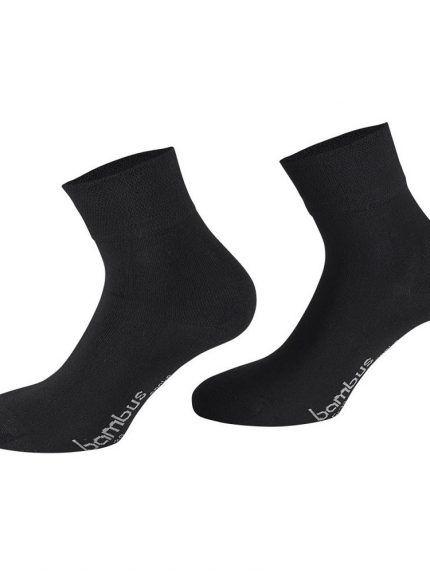 Črne nogavice iz bambusa