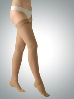 Avicenum samostoječe kompresijske nogavice 140 den kožna