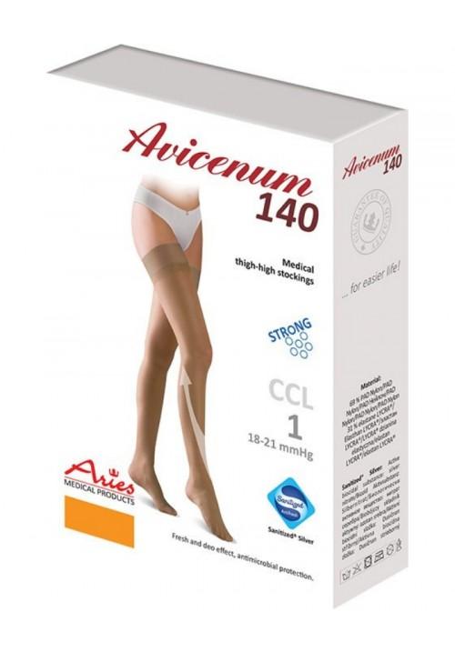 Avicenum samostoječe kompresijske nogavice 140 den