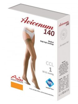 Avicenum 140 den kompresijske samostoječe nogavice