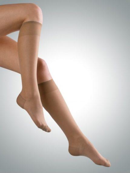 Avicenum 70 den travel preventivne kompresijske dokolenke kožna