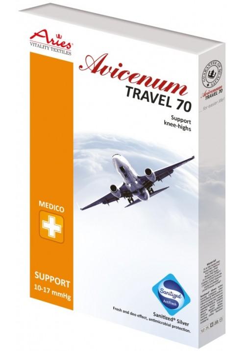 Avicenum 70 den travel preventivne kompresijske dokolenke