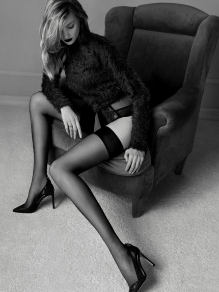 Glam samostoječe nogavice 20 den