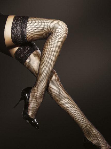 Samostoječe nogavice Liza 40 den