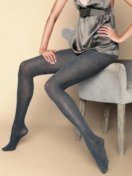 Hlačne nogavice Lana Soft 100 den