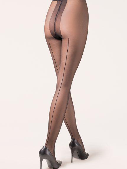 Hlačne nogavice Linette 20 den črna