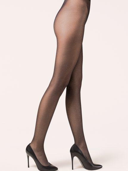 Hlačne nogavice Lurex 20 den