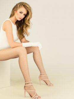 Hlačne nogavice Nova 20 den kožna