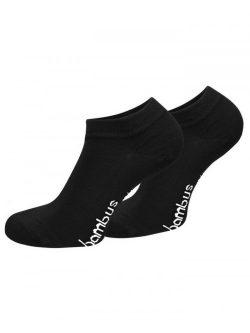 Nizke nogavice iz bambusa - črna