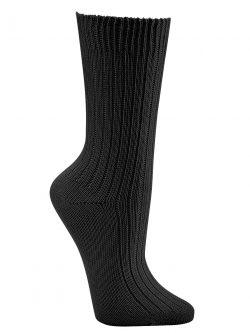 Nogavice iz 100% organskega bombaža črne