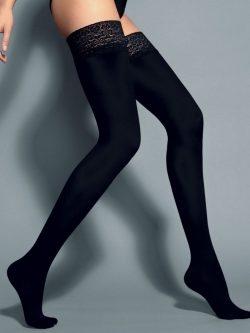 Samostoječe nogavice Fiona 60 den