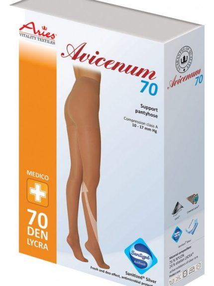 Avicenum 70 den preventivne kompresijske hlačne nogavice