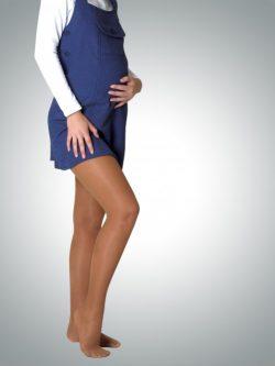 Avicenum 70 den preventivne kompresijske hlačne nogavice za nosečnice kožna