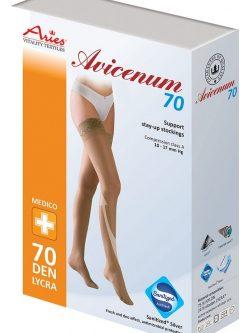 Avicenum 70 den preventivne kompresijske samostoječe nogavice