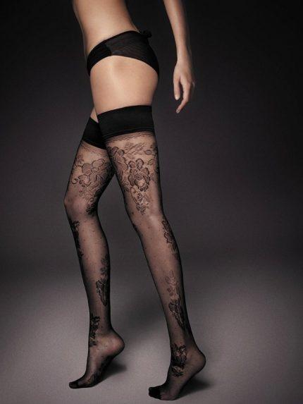Samostoječe nogavice Clara 20 den