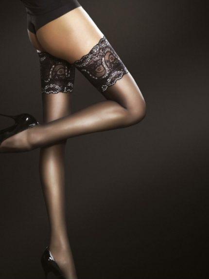 Samostoječe nogavice Sandrine 20 den