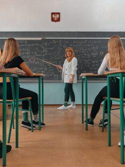 Pisane nogavice Back 2 School