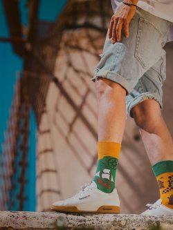Pisane nogavice Poper